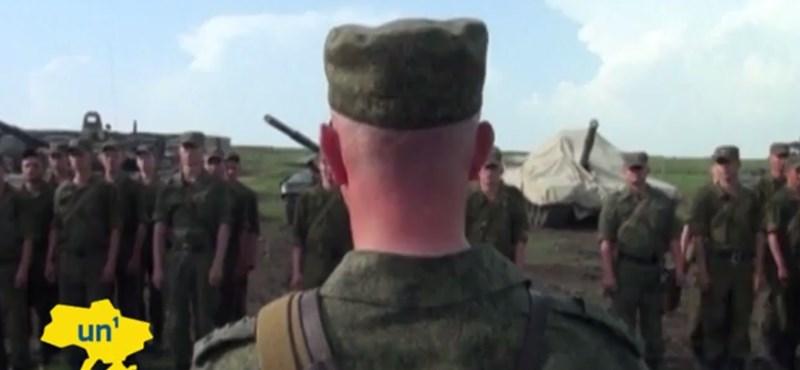 Videós bizonyíték: Tényleg visszavonulnak az orosz katonák