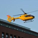 Elküldték a mentőhelikoptert a Honvédkórházból, mert rossz volt a lift