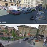 Utazzon az időben a Google Street View-val!