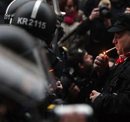 Így kerítették be a gárdistákat a rendőrök - Nagyítás
