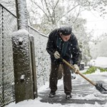 Csapást mért a BKK-ra a tavaszi havazás