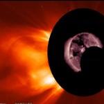 Ez történik, ha egy meteor megközelíti a Napot: videó