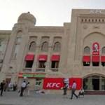 A bakui főpályaudvar a  világ legnagyobb KFC étterme