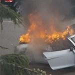 Esküvőn égett porig egy Audi R8 Spyder – videó