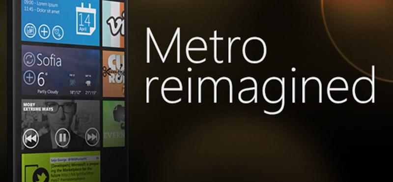 Ilyen lehetne a következő Windows Phone Metro UI felülete [galéria]
