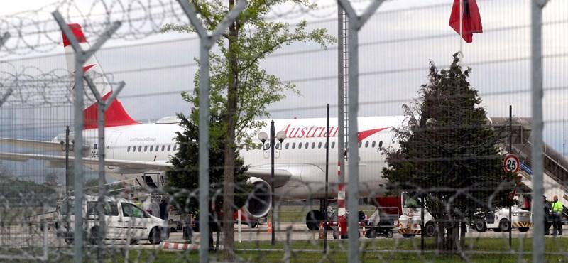 Gépfegyverrel raboltak kétmillió eurót egy gépről a tiranai repülőtéren