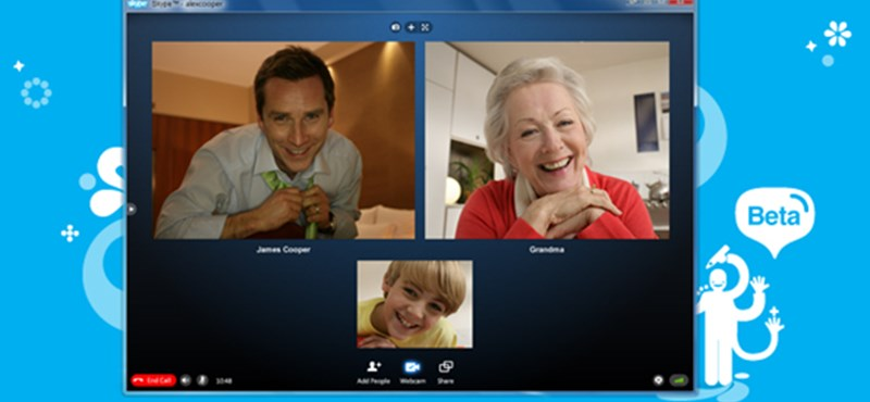 Letölthető a Skype 5 béta verziója