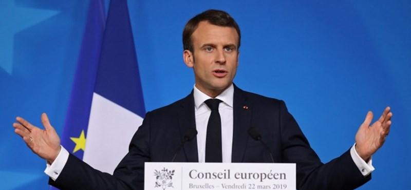 Megelőzte egy felmérésben Macron pártját a francia szélsőjobb