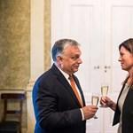 Varga Judit megmutatta, aki elég keményen dolgozik a Fideszért, kora középkorára révbe ér