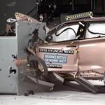 Először teszteltek hidrogénautót egy amerikai törésteszten