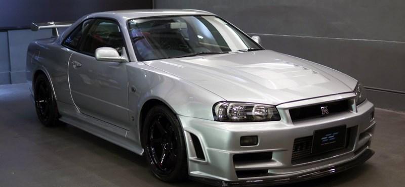 Eladó az egyik legritkább és leggyorsabb Nissan GT-R