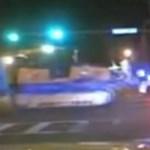 Drogos tinédzser rendőrautón hajtott át egy lopott buldózerrel – videó