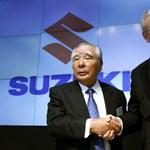 A Volkswagen benn marad a Suzukiban