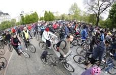 Biciklis felvonulás lesz, alig lehet majd közlekedni vasárnap Budapesten