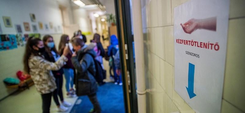 Minisztérium: nincs adat arról, hány tanár kapta el iskolában a fertőzést