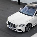 V8-as új S-osztály: Magyarországon a Mercedes S580