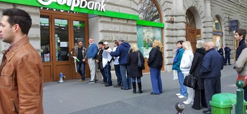 Több száz bankperre készülnek Budapesten