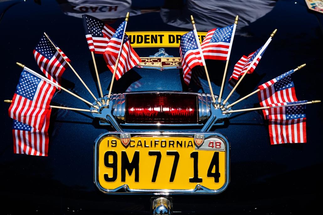 afp.16.07.04. - Kaliforniai rendszámtábla  - Függetlenség napja