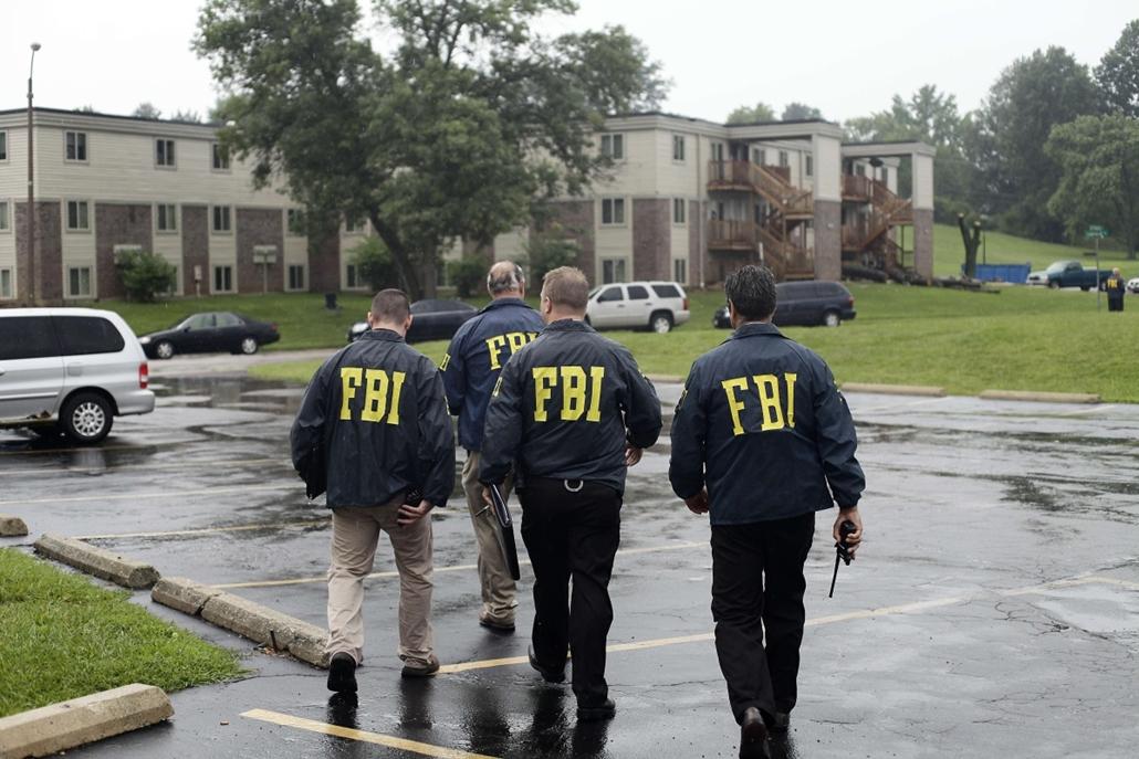 afp. Zavargások az Egyesült Államokban, Michael Brown, St. Louis, Ferguson városrész 2014.08.16.