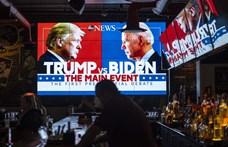 Példátlan személyeskedésbe és káoszba fulladt Trump és Biden első tévévitája