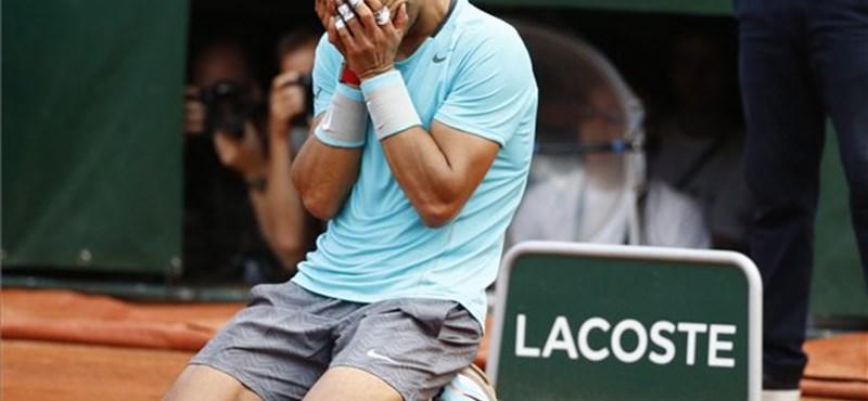 Nadal kilencedjére is megnyerte a Roland Garrost