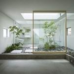 Kert a házban belül – egy nem prűdeknek való ház Japánból (fotókkal)