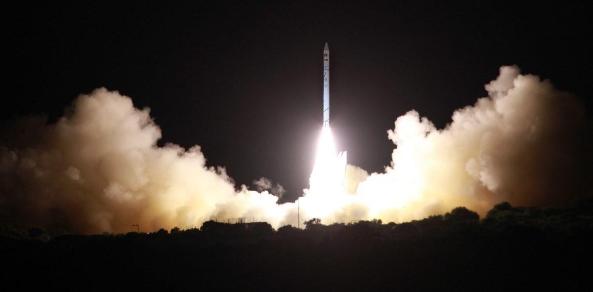 Fotó: kémműholdat lőtt fel Izrael