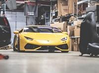 900+ lóerős lett a 2 turbót kapott Lamborghini Huracán