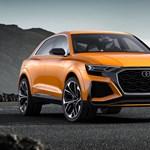 Brutálisan erős divatterepjáróként jön az Audi RS Q8