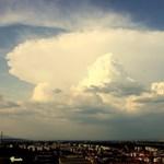 Látványos cella alakult ki az égen Budapestnél – fotók