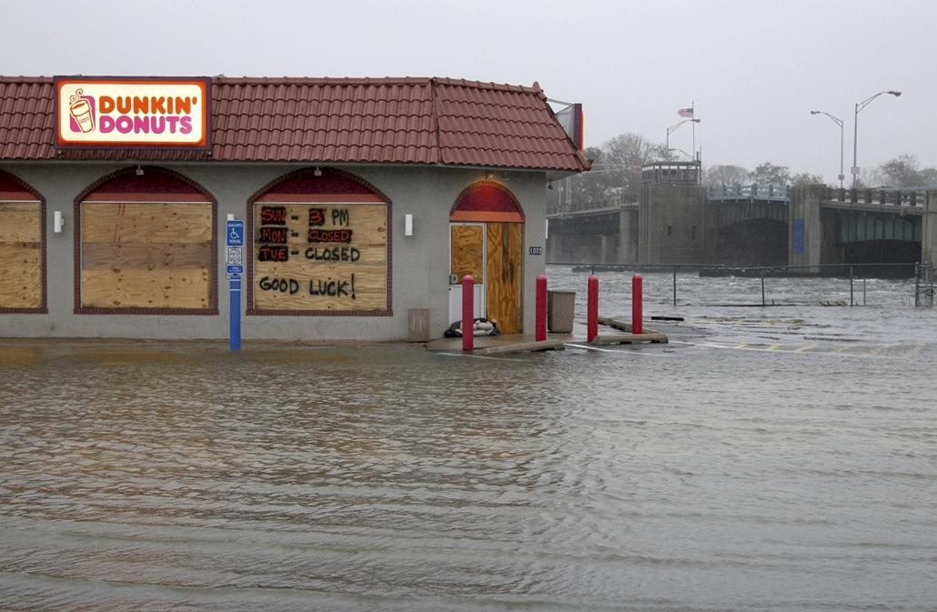 Sandy hurrikán - lassan megérkezik
