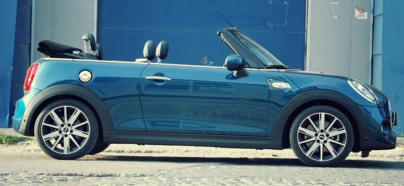 Mini Cooper S Sidewalk – teszten a Flaszter Edition