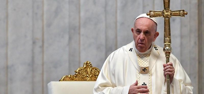 Ferenc pápa: Az evés és a szex öröme isteni eredetű