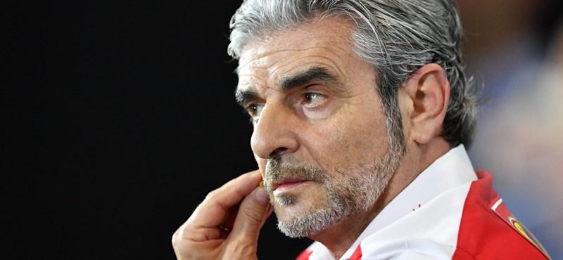 Menesztették a Ferrari F1-es főnökét