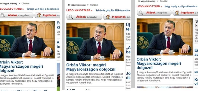 Feljelentést tettek a meghamisított Orbán-interjú miatt
