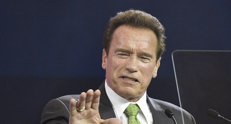 Schwarzeneggert nem engedték be a pesti Gucci-üzletbe