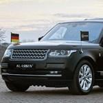 Golyóálló és hatalmas lett ez a Range Rover