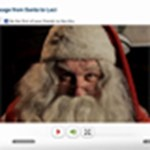 Személyes karácsonyi videó üdvözlet a Mikulástól