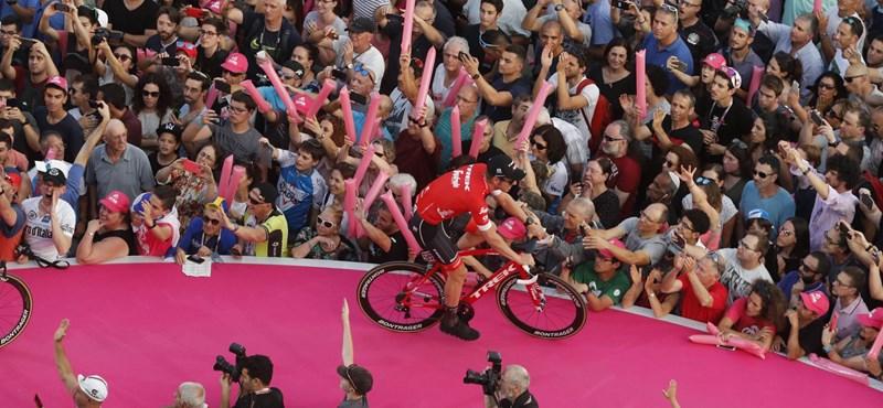 Budapestre hozhatják a Giro d'Italiát
