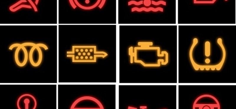 Tudja, melyik lámpa mit jelent az autójában? - gyorsteszt