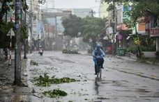 Az elmúlt húsz év egyik legnagyobb vihara pusztít Vietnámban