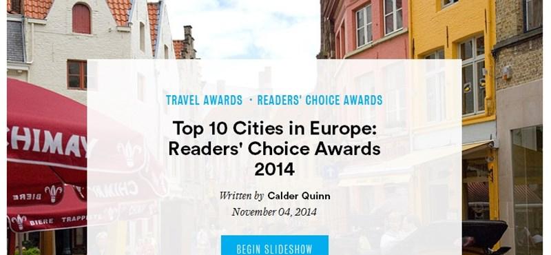 Budapestet szavazták meg Európa második legjobb városának