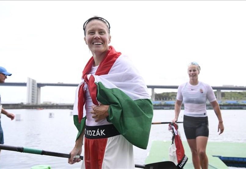 Danuda Kozak es la olímpica femenina húngara más exitosa de todos los tiempos