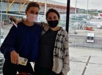 Lefotózták Madridban a dubaji emír lányát, akit korábban kommandósok cipeltek haza, amiért világot akart látni