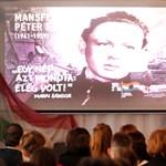 Mansfeld Péterre emlékeztek egykori iskolájában