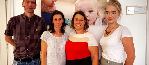 Rácz Zsófia hosszú hónapok után végre találkozott a fiatal tanárokkal