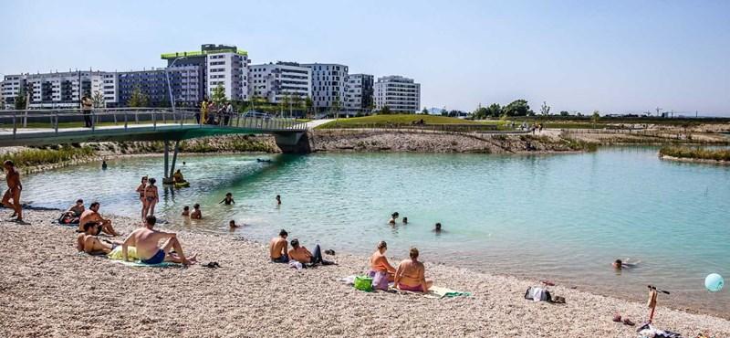 Tó körül alakul egy új városrész Bécsben