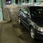 Röszkéig vezetett az útja a lopott Volkswagennek