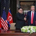 Donald Trump levelet kapott Észak-Koreából