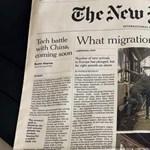 A fideszes médiagóliátról ír a New York Times